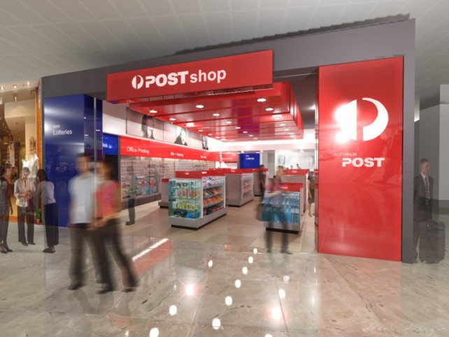 Sydney International Airport Postshop