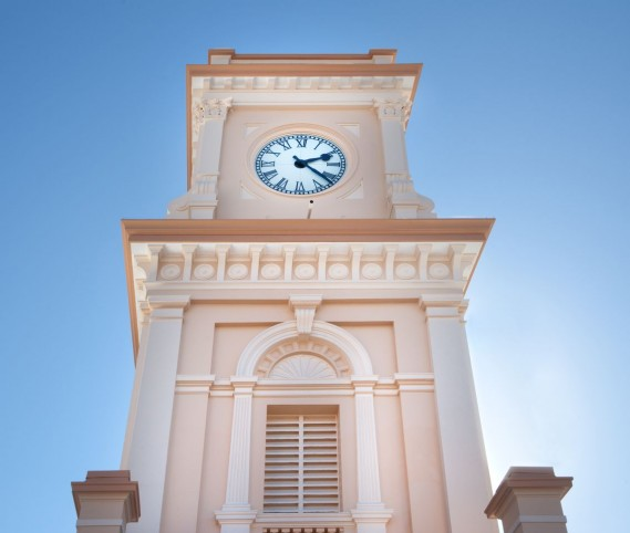 Clock Tower to east