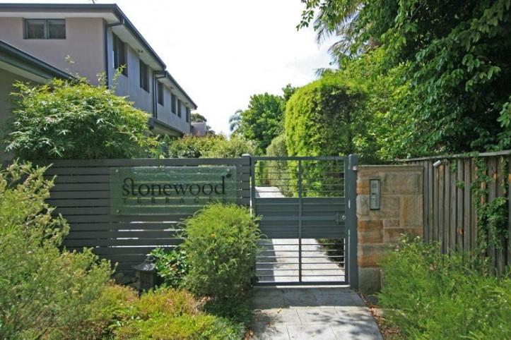 Mona Vale Stonewood entry